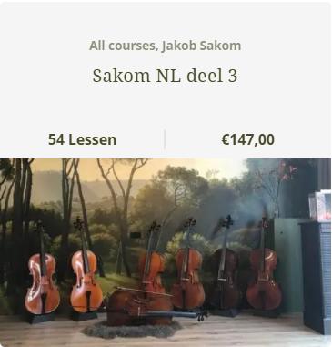 Jakob Sakon bundel 3 NL - Scarlett Arts